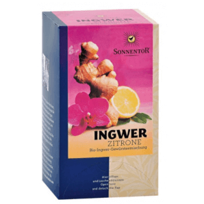 Sonnentor Organic Ginger Lemon Tea (18x1.8g)