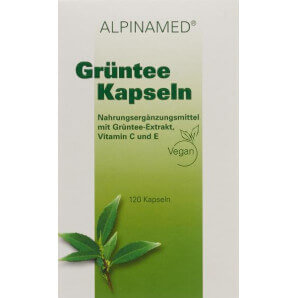 Alpinamed capsules de thé vert (120 pièces)