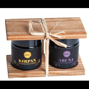 Aromalife coffret cadeau Curry d'épices Chalira (2x50ml)