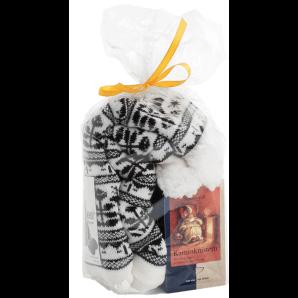 Aromalife coffret cadeau crépitement de cheminée avec chaussettes