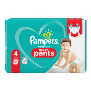 Pampers Baby Dry Pants Gr.4 9-15kg Max (41 pieces)