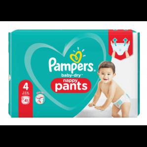 Pampers Baby Dry Pants Gr.4 9-15kg Max (41 Stk)