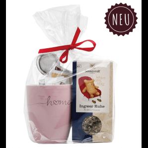 Aromalife Geschenkset Teetasse Ingwer Ruhe assortiert