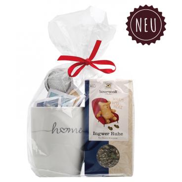 Aromalife gift set teacup ginger rest assorted