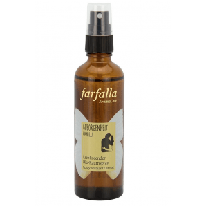 Farfalla security vanilla caressing organic room spray (75ml)