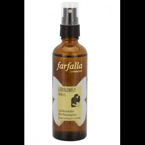 Farfalla security vanilla caressing organic room spray (75ml)