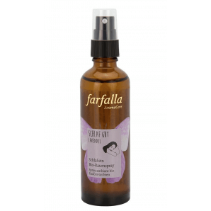 Farfalla sleep well lavender organic room spray (75ml)