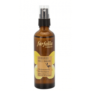 Farfalla Lebensfreude Vanille-Mandarine Bio-Raumspray (75ml)