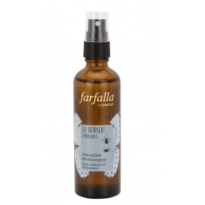 Farfalla Be Refreshed Lemongrass organic room spray (75ml)