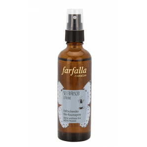 Farfalla Be Refreshed Lemon Organic Room Spray (75ml)