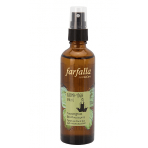Farfalla Aroma-Yoga Benzoin Sun Salutation Organic Room Spray (75ml)