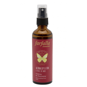 Farfalla Poinsettia organic room spray (75ml)
