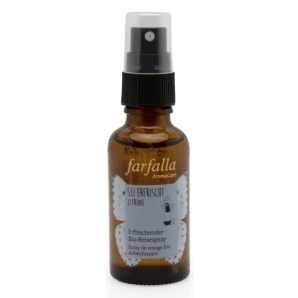 Farfalla Be Refreshed Lemon Organic Travel Spray (30ml)