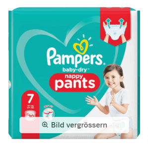 Pampers Baby Dry Pants size 7 17 + kg XL (30 pieces)