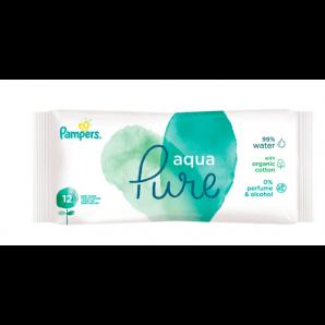 Pampers Feuchte Tücher Aqua Travelpack (12 Stk)