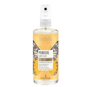 Farfalla Mandarine Carpe Diem Deodorant Spray (100ml)