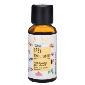 Farfalla Baby Fennel Chamomile Tummy Oil (30ml)