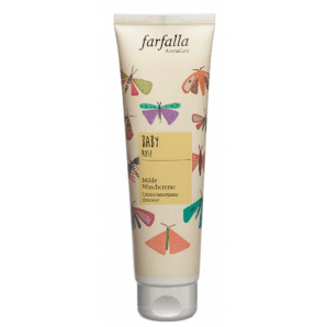 Farfalla Baby Mild Wash Cream Rose (145ml)