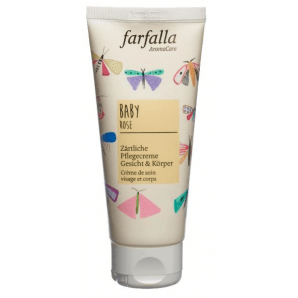 Farfalla Baby Tender Care Cream Face & Body Rose (100ml)