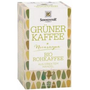 Sonnentor Grüner Kaffee Nicaragua Bio-Rohkaffee (18x3g)