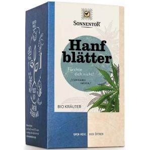 Sonnentor Hemp Leaves Organic Herbs (18x1.5g)