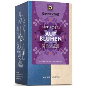 Sonnentor Happiness Is Blooming Organic Herbal Spice Tea (18x1.5g)