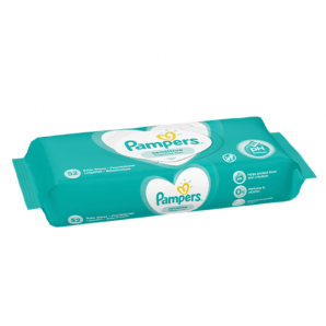 Pampers Sensitive Wet Wipes (52 pieces)