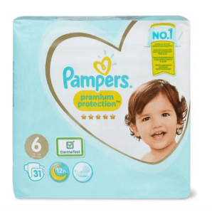 Pampers Premium Protection size 6 13-18kg economy pack (31 pieces)