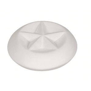 Farfalla fragrance stone star glazed underside (1 pc)