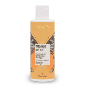 Farfalla Mandarine Carpe Diem shower gel (200ml)