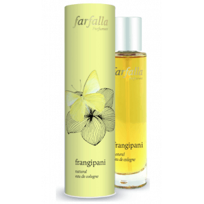 Farfalla frangipani natural eau de cologne (50ml)