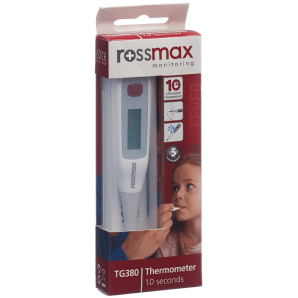 Rossmax clinical thermometer flexible tip TG380 (1 piece)