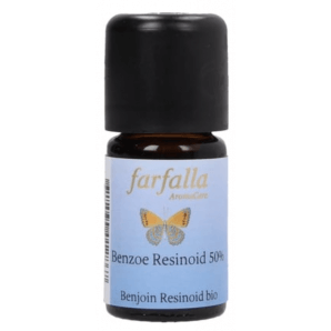Farfalla Benzoe Resinoid 50% Bio (5ml)