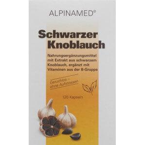 Alpinamed Schwarzer Knoblauch Kapseln (120 Stk)