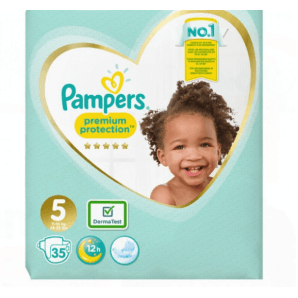 Pampers Premium Protection Gr.5 11-16kg Junior Sparpack (35 Stk)
