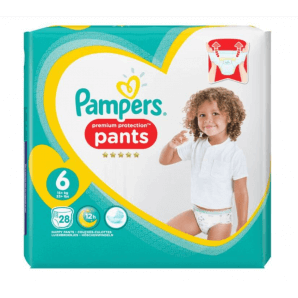 Pampers Premium Protection Pants Gr.6 15+kg XL Sparpack (28 Stk)