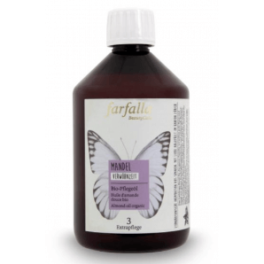 Farfalla Mandel Bio Pflegeöl (500ml)