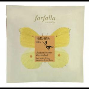 Farfalla Joy Of Life Tonka Sea Salt Bath Moments Of Happiness (60g)