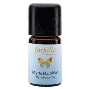 Farfalla Myrte Marokko Ätherisches Öl Bio Wildsammlung (5ml)