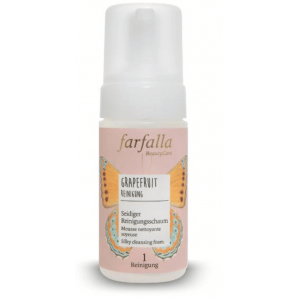 Farfalla Grapefruit Silky Cleansing Foam (120ml)