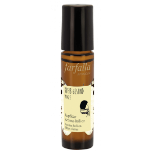 Farfalla Bleib Gesund Minze Aroma Roll On (10ml)
