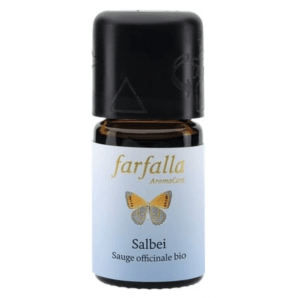 Farfalla Sage Essential Oil Organic Grand Cru (5ml)