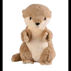 WARMIES warm soft toy otter