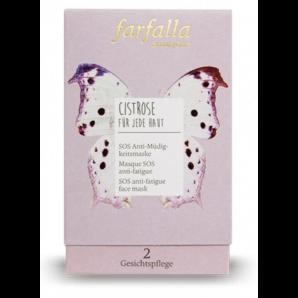 Farfalla Masque SOS Anti Fatigue Rockrose (10x7ml)