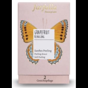 Farfalla Grapefruit Sanftes Peeling Bio (10x7ml)