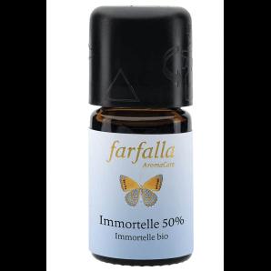 Farfalla ätherisches Öl Immortelle 50% (50% Alk.) bio Cru (5ml)