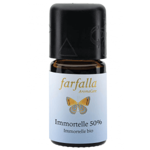 Farfalla essential oil Immortelle 50% (50% alc.) organic cru (5ml)