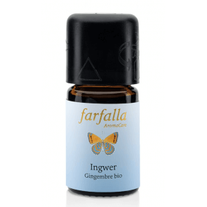 Farfalla essential oil ginger organic Grand Cru (5ml)