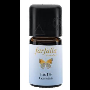 Farfalla ätherisches Öl Iris 1% (99% Alk.) Selektion (5ml)