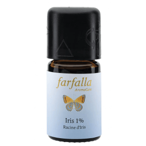 Farfalla essential oil Iris 1% (99% alc.) selection (5ml)